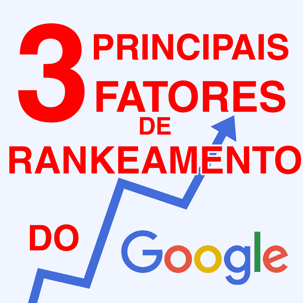 Os 3 principais fatores para rankeamento de sites no Google