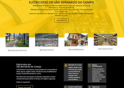 Criação de Site | Max Eletrica