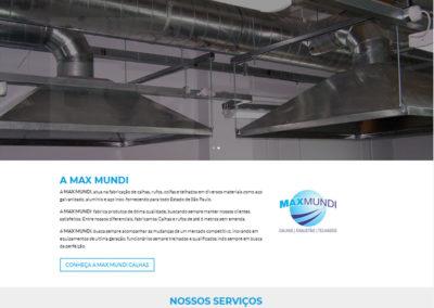 Criação de Site | Max Mundi