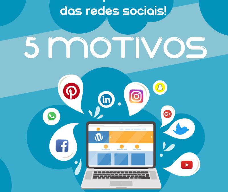 Redes Sociais – 5 motivos para sua empresa usar as Redes Sociais!