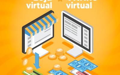 Diferenças entre Vitrine Virtual e Loja Virtual